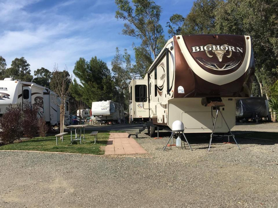 Premium Pull Thru Sites Vineyard Rv Park