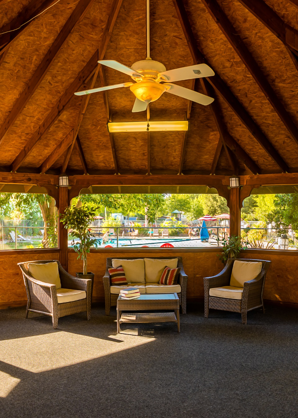 Gazebo Amp Clubhouse Vineyard Rv Park