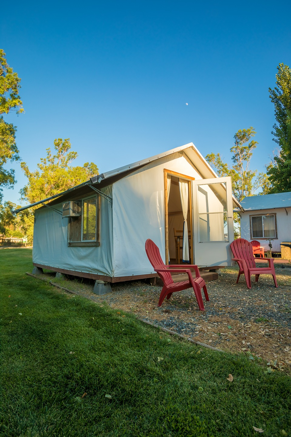 Canvas Tent Cabins Vineyard Rv Park