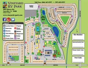 Facility Map Vineyard Rv Park